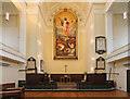 TQ3479 : St James, Bermondsey - Sanctuary by John Salmon