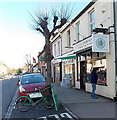SU0682 : Butchers' delivery bicycle,  Royal Wootton Bassett by John Grayson