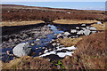 SD5957 : Peat bog above Tarnsyke Clough by Ian Taylor