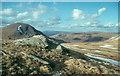 NN3640 : Summit slopes on Beinn a' Chuirn by Alan Reid