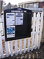 TG0603 : Kimberley Park Notice Board by Adrian Cable