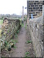 SE1643 : Footpath - Derry Hill by Betty Longbottom