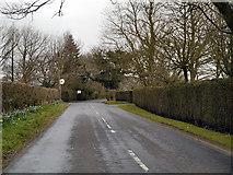 SJ7283 : Hulseheath, Chapel Lane by David Dixon