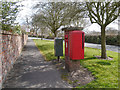 SJ7585 : Postbox on Bow Lane by David Dixon