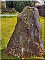SJ7083 : Millennium Stone at High Legh Chapel by David Dixon