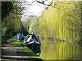 TL0604 : Grand Union Canal, opposite Swan Mead, Hemel Hempstead (2 of 3) by Brian Robert Marshall