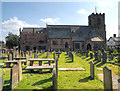SJ5187 : St Luke's Church and Graveyard by David Dixon
