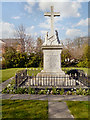 SJ5186 : War Memorial, St Bede's Church by David Dixon