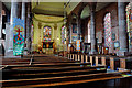 SJ5441 : St Alkmund's church, Whitchurch - interior (1) by Mike Searle