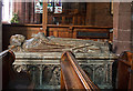 SJ7419 : Church of St Nicholas, Newport - tomb-chest of John Salter and wife by Mike Searle