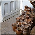 SK6274 : Pots behind the door by David Lally