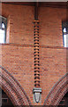 TQ2470 : St Andrew, Herbert Road - Brickwork by John Salmon