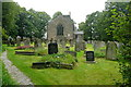 SK2260 : Elton church and churchyard by Graham Horn