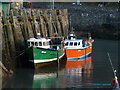 SS5247 : Fishing boats - Ilfracombe Harbour : Week 17