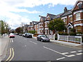 TQ2773 : Wandsworth Common, Patten Road by Mike Faherty