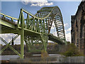 SJ5183 : Widnes, Silver Jubilee Bridge by David Dixon