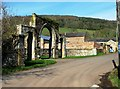 ST1831 : Archway entrance to Cothelstone Manor by nick macneill