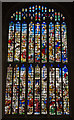 TL4458 : Stained glass window - King's College Chapel by TheTurfBurner