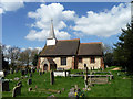 TQ6691 : St. Mary the Virgin, Little Burstead by Robin Webster