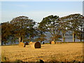 NJ7708 : Early autumn dawn in rural Aberdeenshire by Alan Reid
