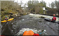 NH2701 : Below the releasing dam on the River Garry by Andy Waddington