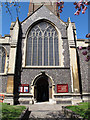 TQ1769 : All Saints, Kingston: south entrance by Stephen Craven