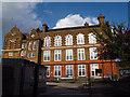 TQ3877 : John Roan school - temporary building by Stephen Craven