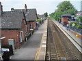SJ7694 : Urmston railway station, Greater Manchester by Nigel Thompson