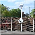 SK7518 : Help point, platform 1, Melton Mowbray station by Robin Stott