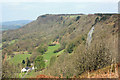 SE5182 : Sutton Bank by Peter Church