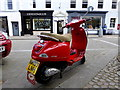 NY1230 : Piaggio scooter, Cockermouth by Kenneth  Allen