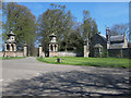 NU0525 : West Lodge and Gateway to Chillingham Castle by Graham Robson