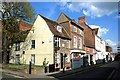 SP8113 : Street Corner, Old Aylesbury by Des Blenkinsopp