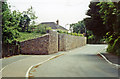 SX5353 : Site of former Elburton Cross station, 1991 by Ben Brooksbank