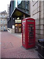 SK3587 : Sheffield: telephone box in West Street by Chris Downer