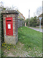 TF9437 : George VI postbox at Great Walsingham by Pauline Eccles