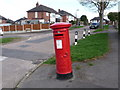 SK3984 : Sheffield: postbox &#8470; S12 666, Somercotes Road by Chris Downer