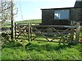 SE0120 : Gate on Ripponden Footpath 11 at Far Slack by Humphrey Bolton