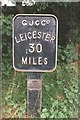 SP6177 : Thirty Miles to Leicester by Tim Glover