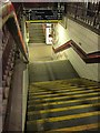 TQ2775 : Steps to subway, Clapham Junction by Derek Harper