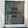 SJ9298 : The Oxford (window) by Gerald England