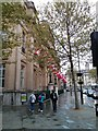 TQ2980 : Flags flying at Canada House by PAUL FARMER