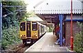 TQ5387 : Emerson Park station, with train 1991 by Ben Brooksbank