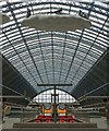 TQ3082 : Eurostar terminal, St Pancras International by Paul Harrop