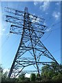 SP3684 : Pylon beside the Oxford Canal by Rob Farrow
