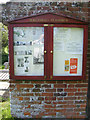 TM3787 : Ilketshall St.Andrew Church Notice Board by Adrian Cable
