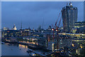 TQ3380 : London Skyline from Tower Bridge, London by Christine Matthews