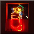 TQ5804 : Christmas lights, Polegate by nick macneill
