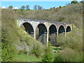 SK1871 : Monsal Head Viaduct by Tony Bacon
