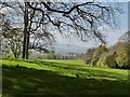 NU0625 : View of the Cheviot Hills from Chillingham Castle grounds by Derek Voller